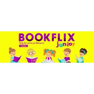 Bookflix junior pe litera.ro: târgul de carte pentru copii cu noutăți, reduceri până la 70%, carte cadou și lecturi-eveniment