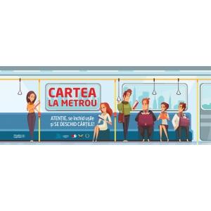 Cartea la metrou - Invitație la lectură!
