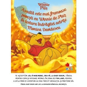 Cele mai frumoase povești cu Winnie de Pluș  în lectura îndrăgitei actrițe Monica Davidescu