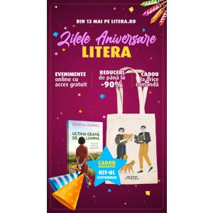 De ziua Editurii Litera invităm cititorii la Zilele aniversare pe litera.ro
