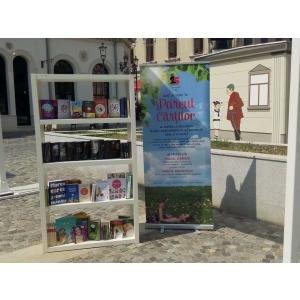 litera m. Editura Litera deschide o nouă bibliotecă urbană în Centrul Vechi