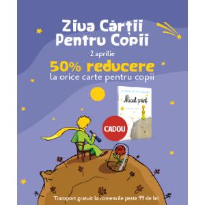 Editura Litera îți dă întâlnire de Ziua Cărții Pentru Copii!