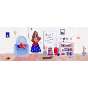 Litera la Gaudeamus, Ilustratie Mura