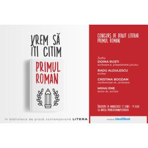 Invitație pentru scriitori: înscriere la concursul de debut literar Primul roman