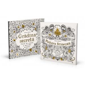 activitate antistres. Cărți de colorat pentru adulți de Johanna Basford