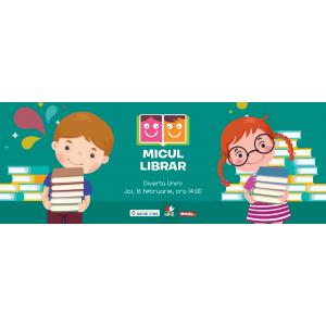 librar. Micul librar, o campanie dedicată copiilor și cărților!