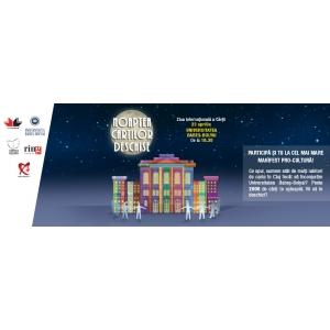 Noaptea Cărților Deschise. Cel mai mare manifest pro-cultură din Cluj de Ziua Internațională a Cărții