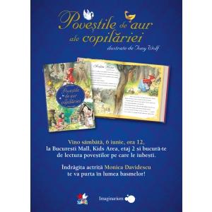 Poveștile de aur ale copilăriei prind viață cu Litera Mică la București Mall