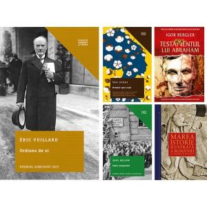 Premiul Goncourt semnat Éric Vuillard –   în top ficțiune Litera la Bookfest 2018