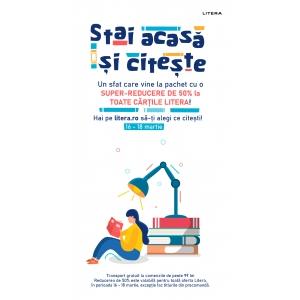 Stai acasă și citește! - o campanie Editura Litera