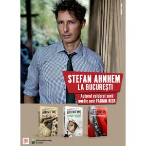 Stefan Ahnhem, autorul celei mai vândute serii de thrillere scandinave a momentului,  vine la București!