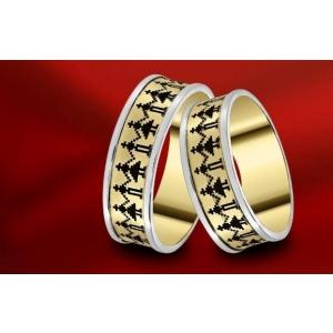 Verighetele reprezintă 40% din bijuteriile din aur cumpărate de români. Premieră: verighete unice în lume, cu motive tradiționale - Colecția Festin