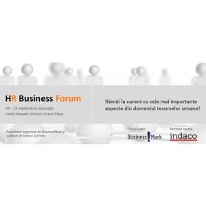 "hr business forum. Indaco Systems, partener media al evenimentului ""HR Business Forum"""