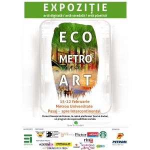 Lansarea expozitiei EcoMetroArt