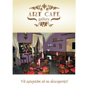 Galerie. S-a deschis Art Café Gallery, prima cafenea-galerie de arta din Arad