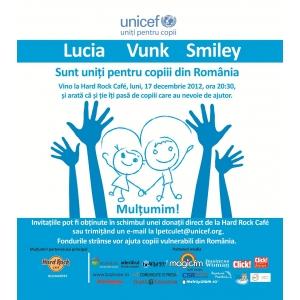 Lucia Ferendinos. Concert UNICEF