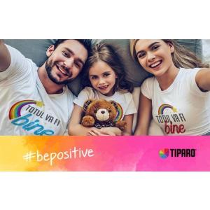 """Be positive"" in timp ce iti ajuti comunitatea"