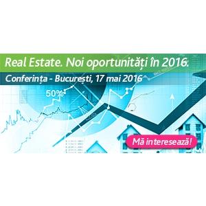 More Real Estate Services. Conferinta Real estate. Noi Oportunitati in 2016