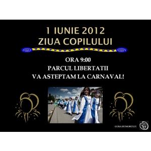 Carnavalul copiilor la Gura Humorului