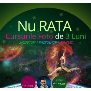 Noua serie de cursuri FOTO Venus Five discount 15% pentru inscrierile corporate.
