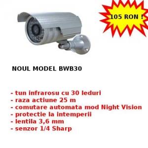 camere infrarosu. Camere supraveghere exterior