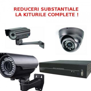 Sisteme de supraveghere - reduceri pentru kituri complete