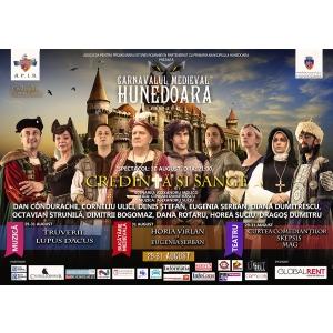 carnaval medieval. Începe Carnavalul Medieval de la Hunedoara!