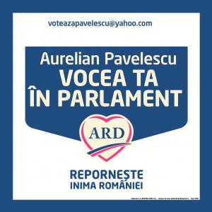 Aurelian Pavelescu. PAVELESCU VOCEA TA IN PARLAMENT