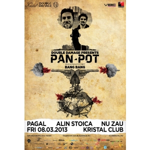 bang. PAN-POT poster eveniment