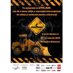 targ constructii 2013. UTICAM 2013 – cel mai mare targ de utilaje si camioane pentru constructii isi deschide portile in luna martie