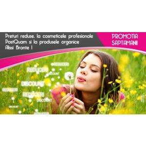 Preturi reduse, la cosmeticele profesionale PostQuam si la produsele organice Alissi Bronte