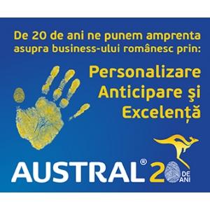 Austral Trade - 20 de ani de brand 100% romanesc