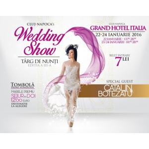 Cluj-Napoca's Wedding Show,  22 - 24 ianuarie 2016