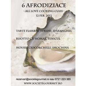 Atelier creatie Praline si Curs de gatit Afrodiziac- cu dragostea in bucatarie