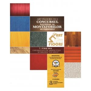 Profesioniști, materiale și tehnologii din domeniul pardoselilor la ART FLOORS, între 7 - 9 Mai 2014