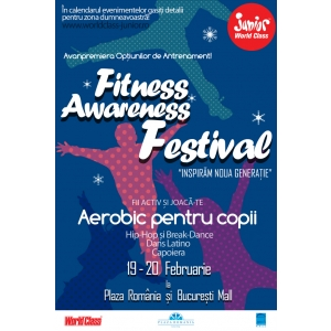 "World Class Romania in colaborare cu Anchor Grup prezinta  ""Fitness Awareness Festival"""
