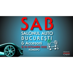 Drive into the future @SAB2020 / Salonul Auto București & Accesorii, 8 – 18 octombrie, ROMEXPO