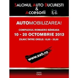 Salonul Auto Bucuresti 2013. Lansare Salonul Auto Bucuresti si Accesorii 2013, 10 – 20 Octombrie, Romaero Baneasa!