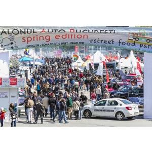 SAB - Spring Edition & Street Food Park 2018 cel mai atractiv eveniment  Auto–Motor–Sport & Street Food, 10–13 Mai, aleea centrala Romexpo