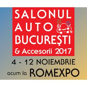 Tendințele auto 2017 – 2018 și peste 300 de modele expuse vă așteaptă la Salonul Auto București și Accesorii 2017!