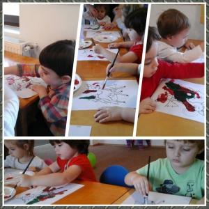 gradinita. Gradinita ELITE incurajeaza dezvoltarea copilului prin desen