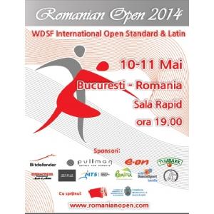 Mediapress Advertising  sponsor oficial al WDSF Romanian Open 2014