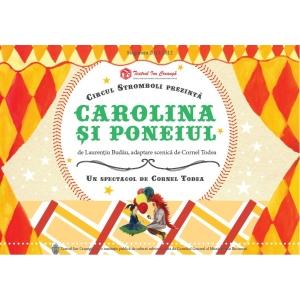 Spectacol premieră la Teatrul Ion Creangă: Carolina şi poneiul