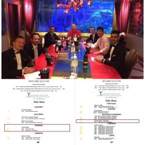 Budureasca, primele vinuri românești la Burj al-Arab!