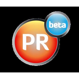 PRbeta. Logo PRbeta
