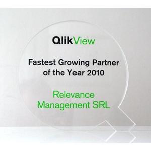 QlikView. premiu Fastest Growing Partner