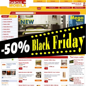 Black Friday 2012 la TargulDeMobila