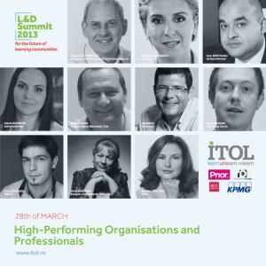contributii. Invitati L&D Summit