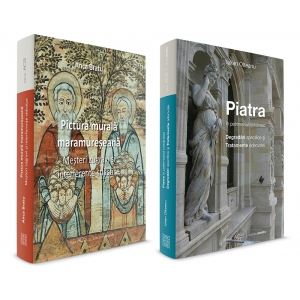 "editura acs. ""Pictura murala maramureseana"",autor Anca Bratu si ""Piatra in patrimoniul romanesc"", autor Iulian Olteanu - Editura ACS, 2015"