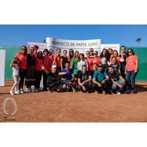 Peste 200 de participanţi la turneul Tenis pentru Fapte Bune organizat de Asociaţia The Social Incubator au susţinut tinerii defavorizaţi din România